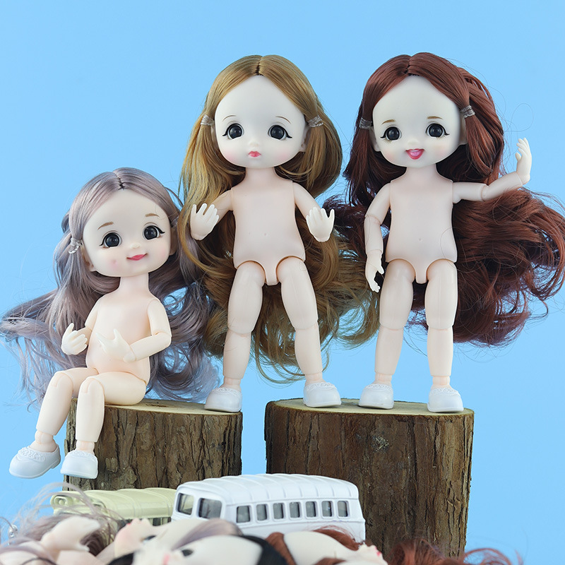 <font><b>BJD</b></font> doll 13 Moveable Jointed 16cm <font><b>1/8</b></font> Surprise Blyth Dolls lols Toys Baby Doll Naked Nude Women Body Dolls for Girls Gift Toy image