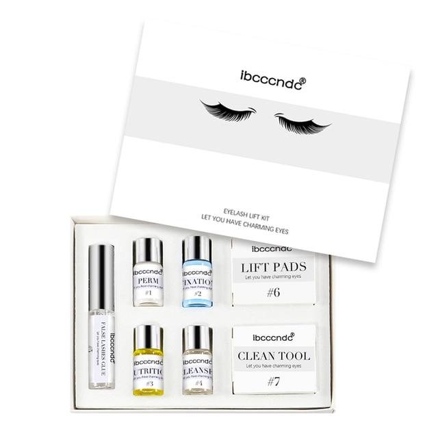 Eye Lash & Brow Lift Perming Eyelash Lift Extension Kit Curling Eye lash Glue Wave Lotion for Home Use Beauty Salon Dropshipping 3
