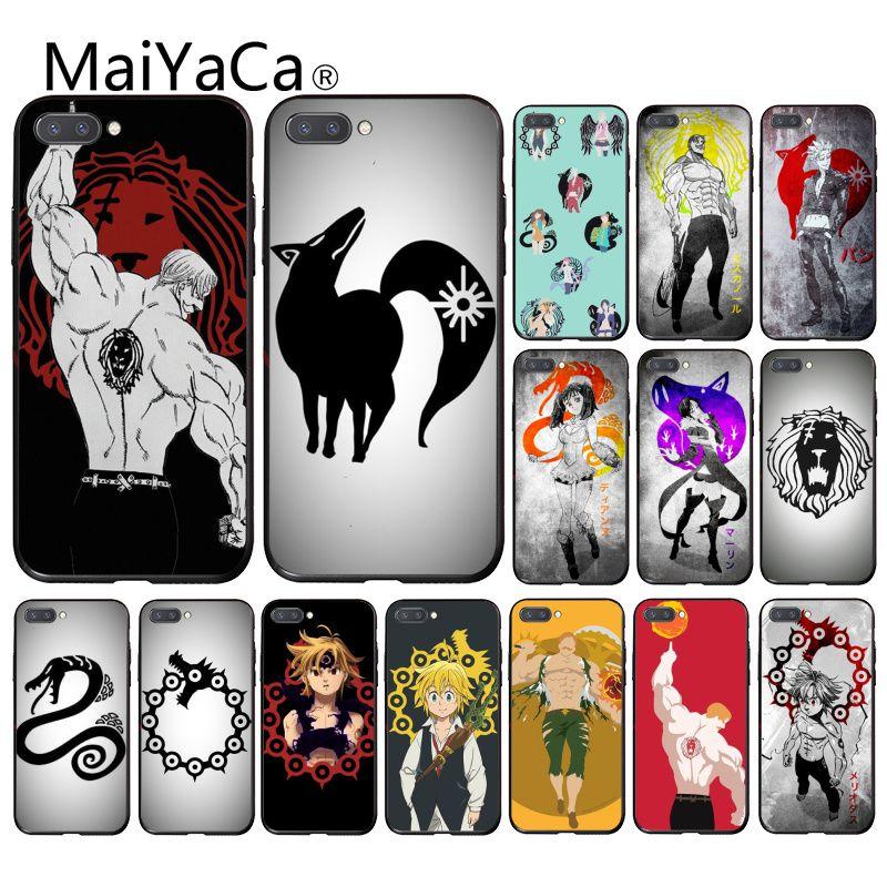 Maiyaca les sept péchés capitaux étui de téléphone pour Huawei Honor 8X 9 10 20 Lite 7A Pro 7C 10i 9X Pro Play 8C