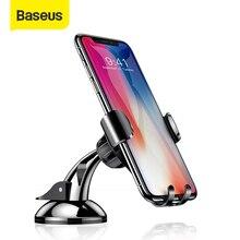 Baseus Gravity uchwyt samochodowy telefon wsparcie Sucker silna przyssawka dla Xiaomi Samsung mobilefon uchwyt samochodowy Auto stojak na telefon