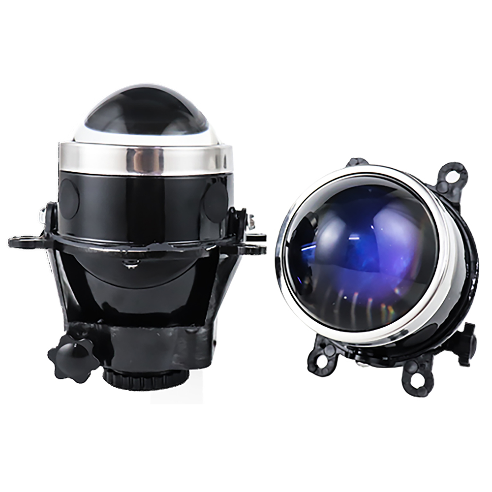 NEW 3.0 inch Bixenon Projector Fog <font><b>Light</b></font> Lens Driving Lamp LED Bulb H11 Waterproof For <font><b>Ford</b></font> <font><b>Focus</b></font> 2 3/PEUGEOT/RENAULT/SUBARU image
