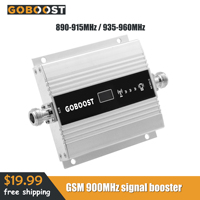 GSM 900Mhz Booster Signal For Mobile Phones 2G Signal Booster LCD Display 60dB Gain Cellular Signal Amplifier Phone Repeater