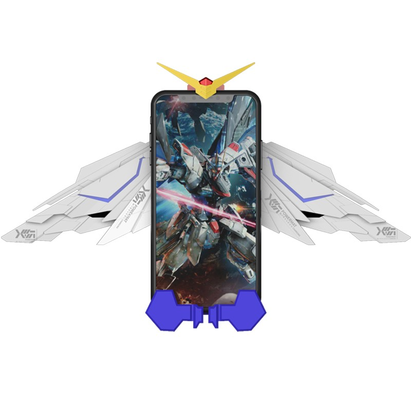 Anime GUNDAM Figure Toy Wireless Charger Fast Charging Cosplay Costume