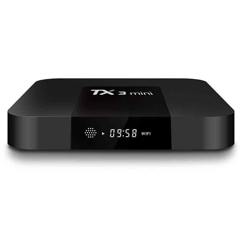 <font><b>Tanix</b></font> <font><b>TX3</b></font> <font><b>Mini</b></font> Android TV Box Amlogic S905W 2GB 16GB Media Player 4K BT 4.0 Set Top Box with 1 Year IPTV France Spain Portugal image