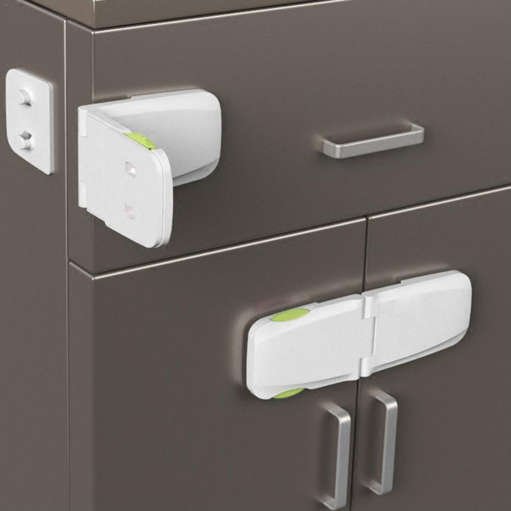 Plastic Baby Safety Protection From Children In Cabinets Boxes Lock Drawer Door Terminator Security Product