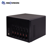 2020 New high quality 6bays NAS storage case hot swap server chassis with 6gb sata backplane