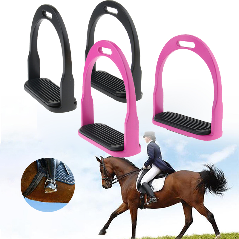 2 Pairs Heavy Duty Aluminum S With Extra Wide Flat Bottom Leather Tread Horse Riding Western Equestrian Accessories