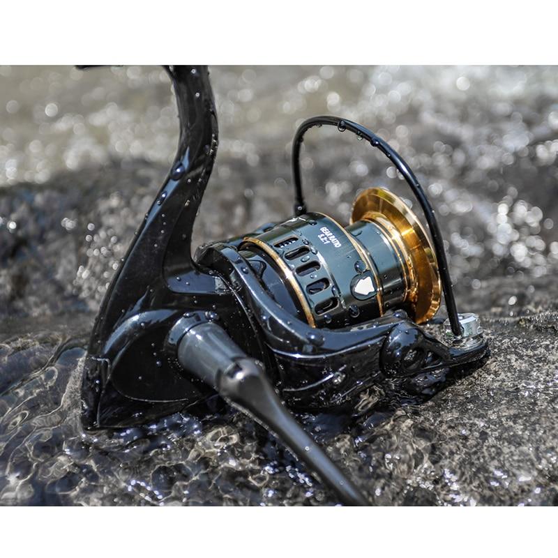 Žūklės ritė 1000-7000 10 kg 5,2: 1 greitaeigė metalinė ritė - Žvejyba - Nuotrauka 6