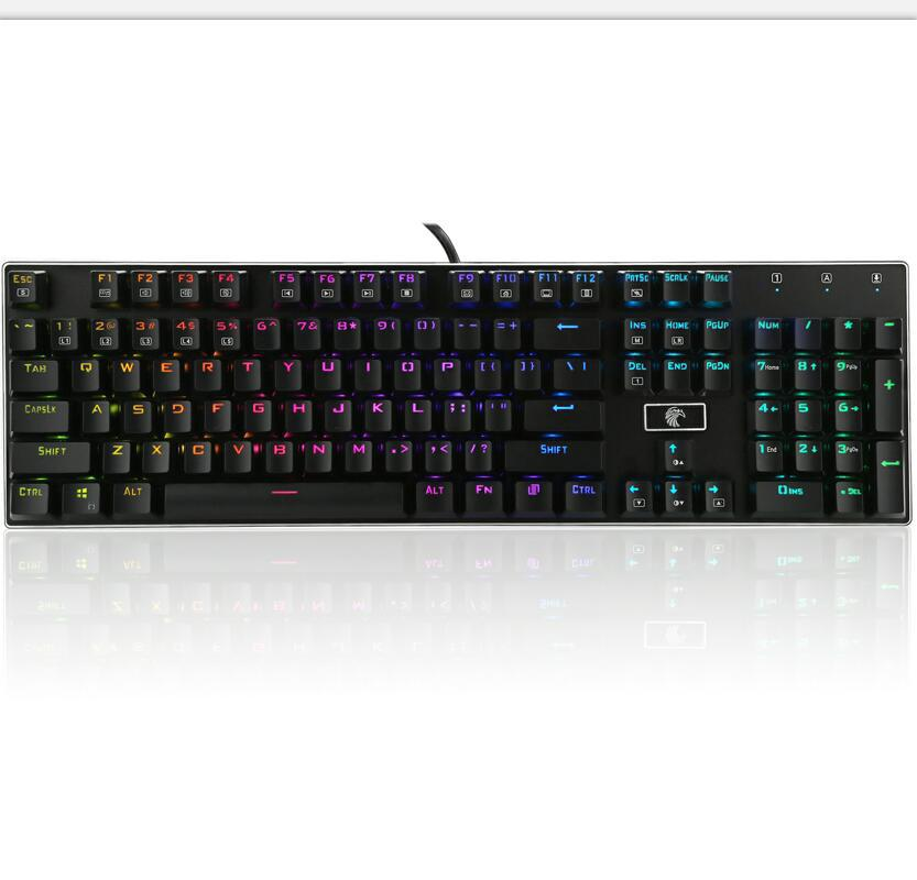 Genuine Product E Element Z88 104 Key Machinery Gaming Keyboard Dustproof Axis Hot Selling New Style Changeable Axis Alternate A