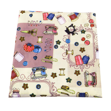 50*145cm Sewing Tool patchwork Polyester&cotton fabric for Tissue Kids Bedding home textile Tilda Doll,52484