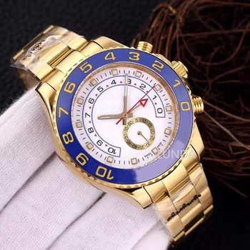 AA Gold Watch 44mm Automatic Movement Mechanical Mens Stainless Steel Watches 2813 Movement Luxury Self Wind Wristwatches фото