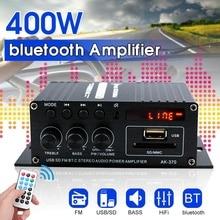 400W 2*200W Stereo Hifi Car Home Subwoofer car audio car Amplifier Amp Sound Spe