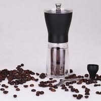 Manual Ceramic Coffee Grinder Washable Abs Ceramic Core Home Kitchen Mini Manual Hand Coffee Grinder|Manual Coffee Grinders| |  -