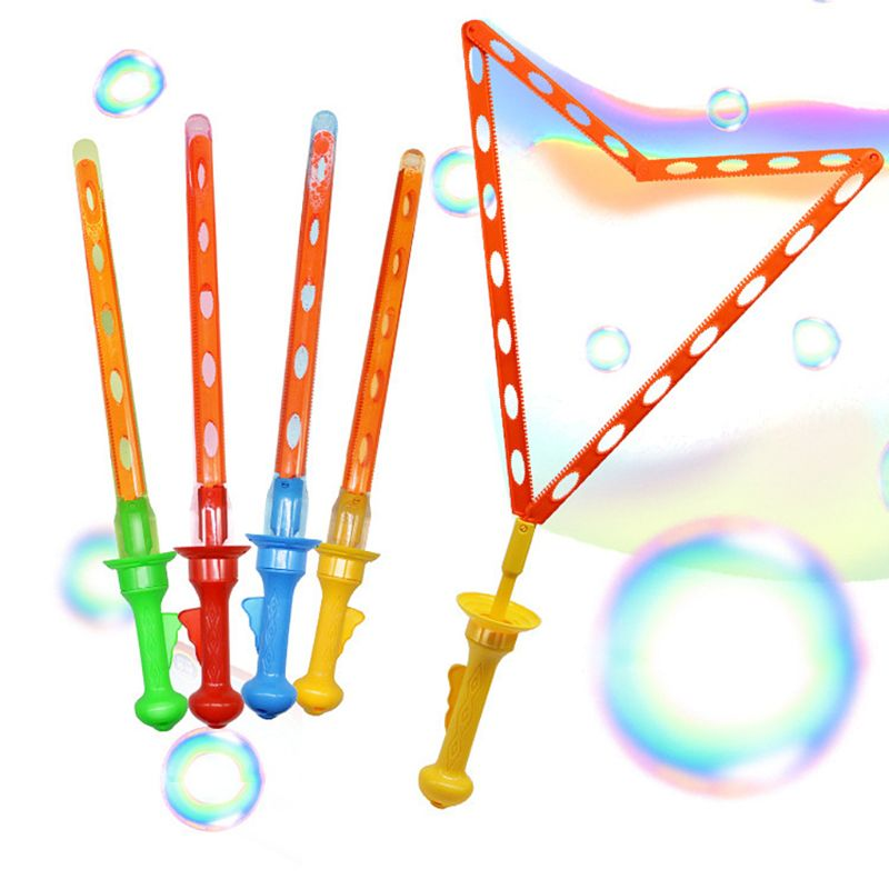 46CM Large Bubble Western Sword Shape Bubble Sticks Kids Soap Bubble Toy Outdoor Toy   95AE