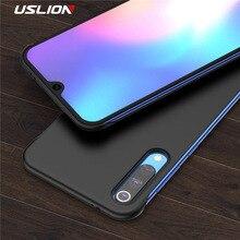 USLION Ultra Slim Matte Frameless Phone Case Fundas For Xiaomi 9 SE Redmi K20 Solid Candy Color Hard PC Back Cover Coque
