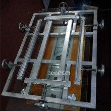 ST4060 небольшой простой ручной растягиватель механическая ручная растягивающаяся машина Профессиональный экранный подрамник для печати(400*600 мм