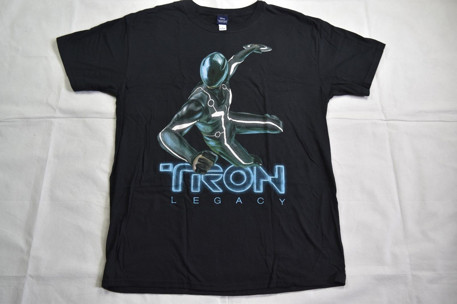 Tron Legacy Sam Leaping T Shirt New Official Sci Fi Movie Film Flynn Light Cycler Cotton T Shirt Fashion Free Shipping image