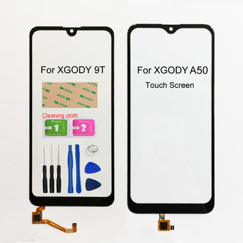 цена на New Touch Pancel For XGODY 9T A50 Touch Screen Digitizer Sensor Glass Panel Replacement Assembly Parts
