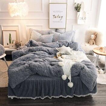 Warm Fluffy Blanket for Bed 1