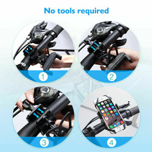 2019 Newest Fashion Universal Motorcycle MTB Bike Bicycle Handlebar Mount Holder For mobile Phone Hot Sale