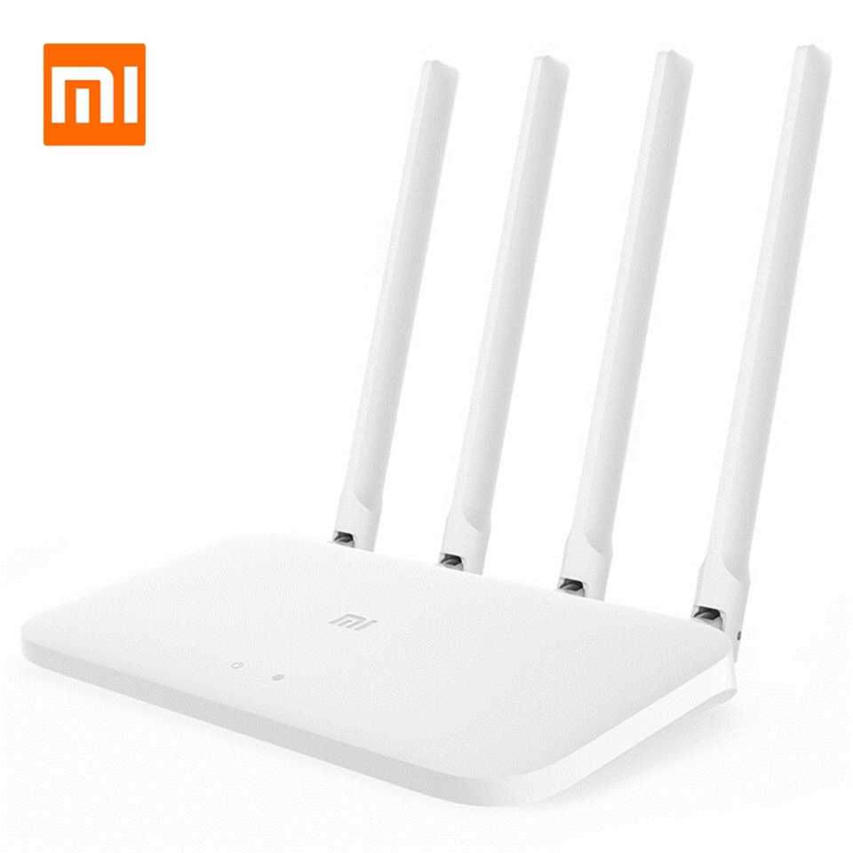 Xiaomi Mi Router 4A Gigabit Edition 1167Mbps 2.4GHz 5GHz Dual Band WiFi ROM 16MB DDR3 High Gain 4 Antennas Remote APP Control image