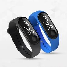 Fashion Bracelet Watch Children Watches Kids for Girls Boys Sport Electronic Wristwatch LED Digital Child Clock Student Watch