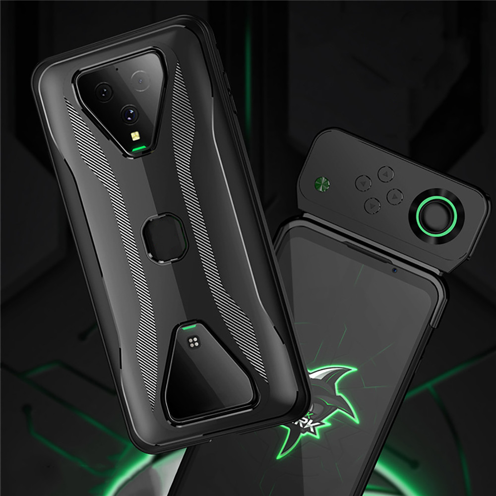 Protective Phone Case for Xiaomi Black Shark 3/ 3 Pro Accessories Heat Dissipation Back Cover Support Gamepad Phone Shell Cover