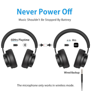 Image 5 - Picun P20 Bluetooth Headphone 5.0 Over Ear Wired Wireless Headphones Foldable Monitor DJ Stereo Headset with Mic Support TF Card