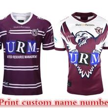 MANLY WARRINGAH SEA EAGLES футболка для регби Размер: S-XXXL принт на заказ номер имя качество идеальное