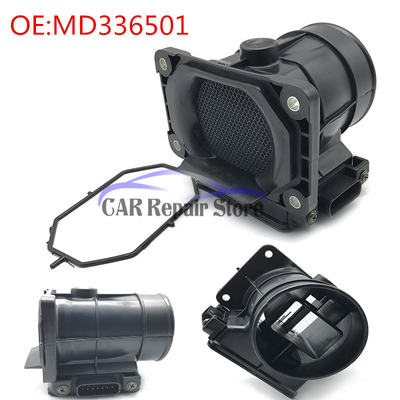 MD336501 Mass Air Flow Sensor For 99-05 Mitsubishi Galant Eclipse Dodge 2.4 3.0L E5T08171 MD336481