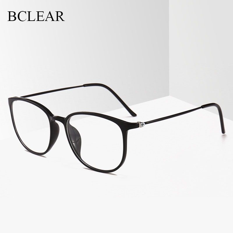 BCLEAR New Ultra-light TR90 Unisex Eyeglass Fashion Slim Retro Men Women Optical Frame Spectacle 2212 Prescription Eyewear Hot
