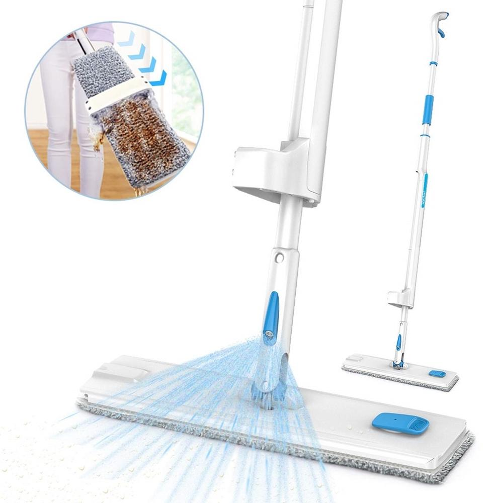 Mop Microfiber-Spray Floor-Cleaning Mop-Pads Home-Laminate Reusable with 360-Degree-Handle