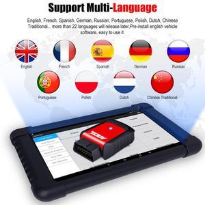Image 4 - Ancel x6 Bluetooth OBD2 Scanner ABS Airbag Öl EPB DPF Reset Professionelle OBD2 Automotive Scanner Freies Update Auto Diagnose Werkzeug