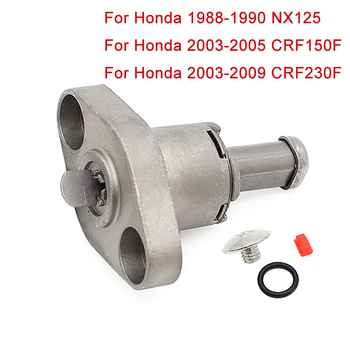 For Honda CRF150F 2003 2004 2005 CRF230F NX125 Manual Cam Timing Belt Chain Tensioner Lifter CRF 230F 2003-2009 NX 125 1988-1990 image