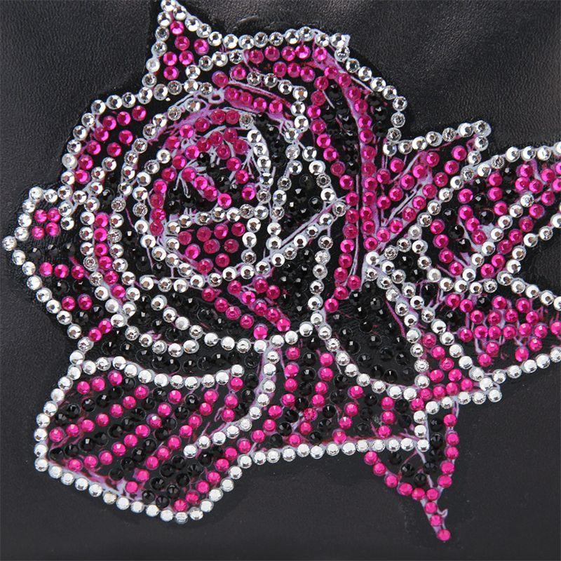 Купить с кэшбэком DIY Special Shaped Diamond Painting Wallet Diamond Painting Rose