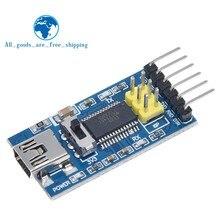 1pc placa de fuga básica para arduino ftdi ft232rl usb para ttl serial ic adaptador conversor módulo para arduino 3.3v 5v ft232 interruptor
