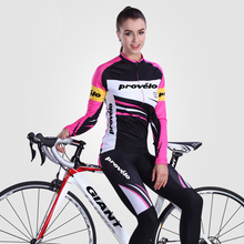цена на Women Winter Cycling Jersey Set Thermal Fleece Mtb Bicycle Clothes Long Sleeves Road Bike Clothing Riding Team Jersey Female