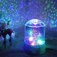 Indoor Star Projector Night Light Sky Moon Led Projector Mood Lamp Kids Bedroom Star projector moon Lamp LED star light dropship cheap oobest Dry Battery Holiday