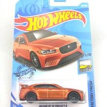 Car Kids Diecast-Model Hot-Wheels JAGUAR MCLAREN FORD Aston Martin Toys Gift Metal 1:64