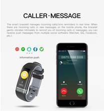 Banda inteligente pulsera para Fitness, pulsera con pantalla uma Cor, Monitor de ritmo a prueba de agua pulseira Inteligente