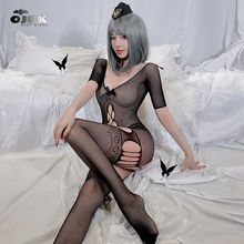 Women Body Stocking Fetish Bodysuit Sexy Cosplay Lingerie Erotic Cosplay Costume Maid Outfit Porno B