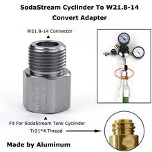 Convert-Adapter Regulators Sodastream-Cylinder Homebrew Beer Keg Co2-Tank Aquarium W21.8-14