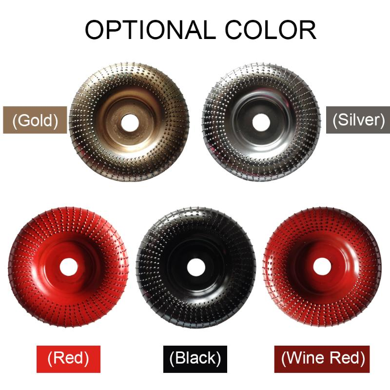 Woodworking Grinding Wheel Wood Plastic Thorn Angle Abrasive Disc Sanding Carving Rotary Tool 100mm Polishing Tool