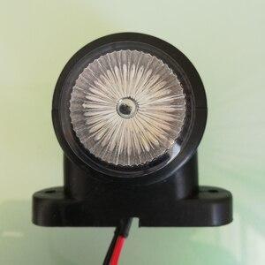 Image 3 - 2Pcs Marker Lights For Car Trailer Position Light Truck Tractor Rear Clearance Lamp LED Red White 12V 24V Parking Side Lights