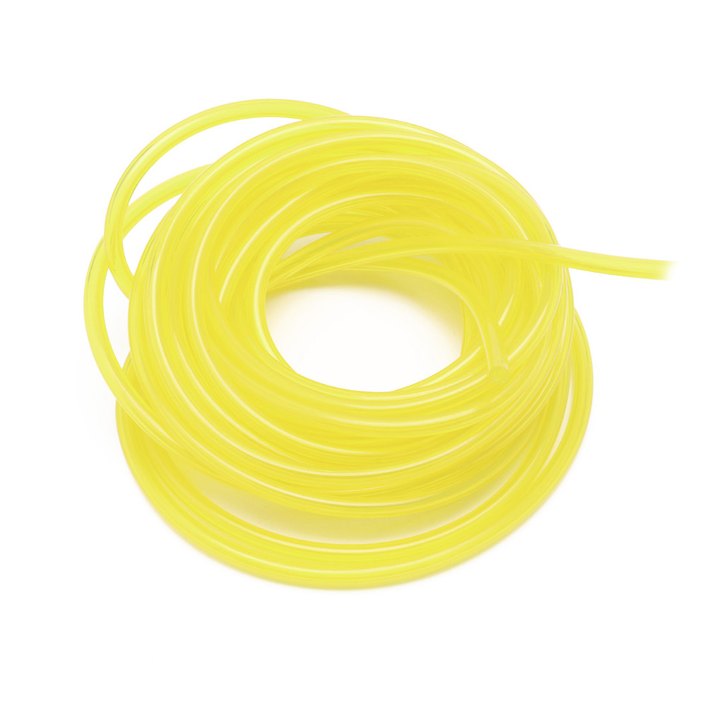 New Sell Fuel Gas Line Pipe Hose For Trimmer Chainsaw Blower 3 Mm Plastic Good Quality