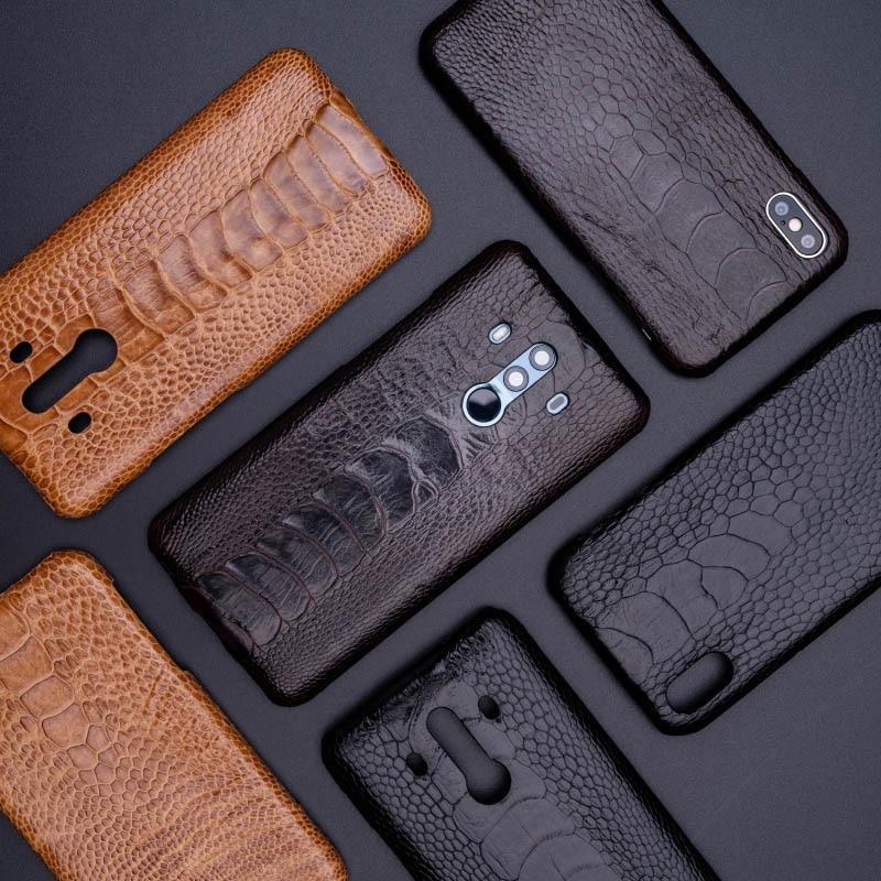 Чехол для телефона из страусиной кожи для huawei mate 20 10 9 Pro P10 P20 Lite, мягкий ТПУ чехол для Honor 8X Max 9 10 Nova 3 3i Capa - 6