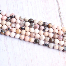 Fanaobao Natural Stone Beads For Jewelry Making Diy Bracelet Necklace 4/6/8/10/12 mm Wholesale Strand