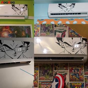 2020 nowe japońskie Dragon Ball naklejki Art Vinyl naklejka do wystroju ścian dla pokoje dla dzieci klimatyzacja dekoracyjna naklejka tapeta tanie i dobre opinie AiyoAiyo Naklejka ścienna samolot Amerykański styl Do lodówki Do płytek Na ścianie Meble Naklejki Naklejki okienne