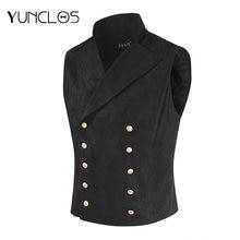 Yunclos мужской костюм жилет британский стиль waistcoatparty