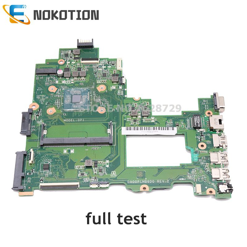 NOKOTION DA00P1MB6D0 Main Board For HP 14-BS Series 14-BS043N Laptop Motherboard DDR3L Full Tested